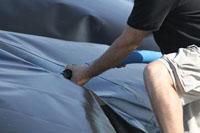 flexible tank installation