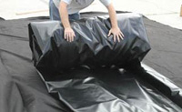 foam wall portable spill berms