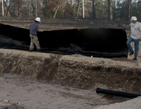 Large pond liners commercial and industrial pond liners for Large pond liners